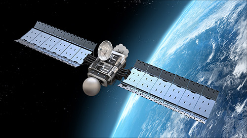Satellite de géolocalisation